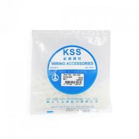 KSS墊片 WR-1208 NYLON直徑12mm 內徑8mm (100入/包)