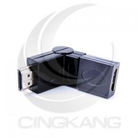 HDMI兩節式180度公-母轉接頭 (HDG-16)