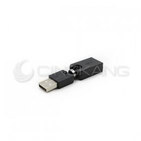 USB2.0 A公-A母 自由彎曲 轉接頭 USG-26