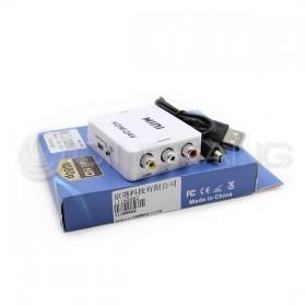 HDMI to AV 訊號轉換器(USB供電)