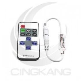 單色條燈用 迷你型RF控制器10鍵遙控器DC5V~24V