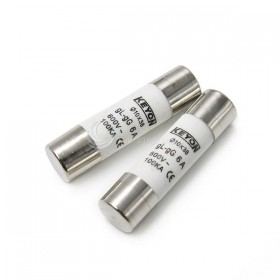 10*38mm 6A/600V 陶瓷保險絲 (2PCS/包)