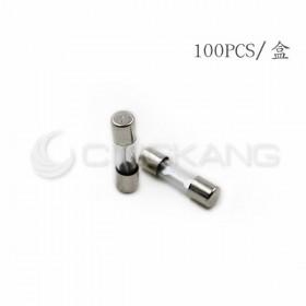 20mm  15A 250V 玻璃保險絲 鐵頭(100PCS/盒)
