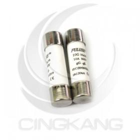10*38mm 10A/600V 陶瓷保險絲 (2PCS/包)