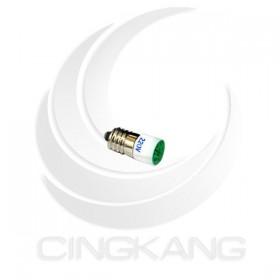 E10 高亮度 多點式 LED 220V 綠色 2芯