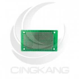綠油纖維玻纖 噴錫板(雙面) 7.8*4.6CM (KT-483D)