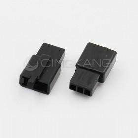 110型連接器-3P 2.80mm  母頭 黑色(20入)
