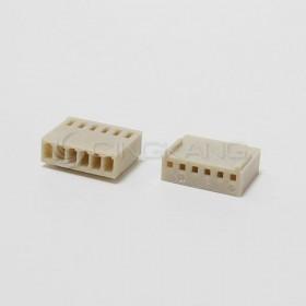 Molex 2.54連接器-6P 母插頭 (20入)