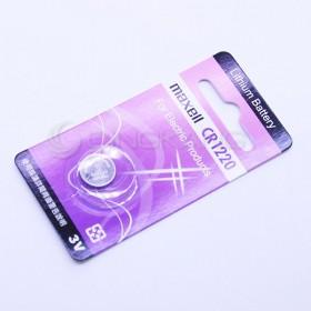 MAXELL鋰電池 CR1220 紫卡