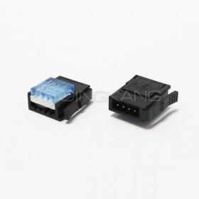 3M 37104-2165-000 FL 4PIN 藍色 公頭 20-22AWG