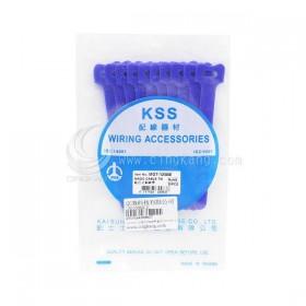 KSS MGT-125BE 黏扣式紮線帶(藍色) 20PCS/包 12*125mm