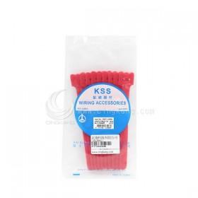KSS MGT-150RD 黏扣式紮線帶(紅色) 20PCS/包 12*150mm