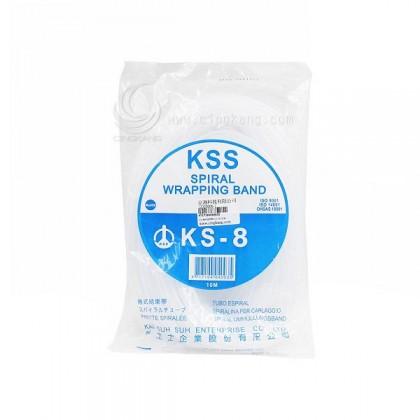 KSS 捲式結束帶KS-8 10M(白色)