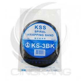 KSS 捲式結束帶KS-3BK 10M(黑色)