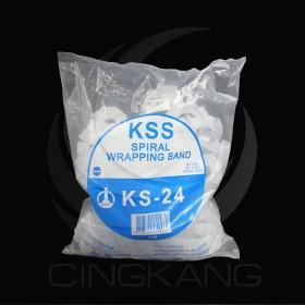 KSS 捲式結束帶 KS-24 10M(白色)