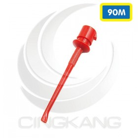 勾式測試夾 紅色(大號) 90mm