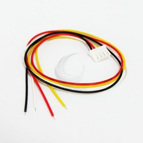 XH2.5MM 單頭排線4P 長30CM