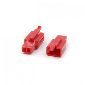 110型連接器-2P 2.80mm 母頭 紅色(20入)