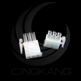 AMP 4.14-3P 公連接器 間距4.14 (20入)