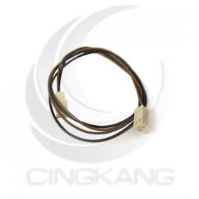 Molex 2.54mm 2P 雙頭母頭連接器帶線 40CM