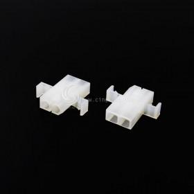 Molex2.36-2P 帶耳 空中連接器 母頭 (20入)