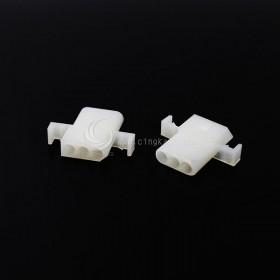 Molex2.36-3P 帶耳 空中連接器 公頭 (20入)
