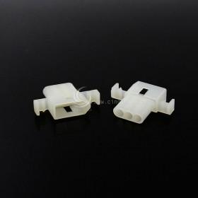Molex2.36-3P 帶耳 空中連接器 母頭 (20入)