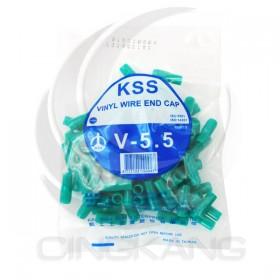 絕緣套管 V-5.5(綠色)