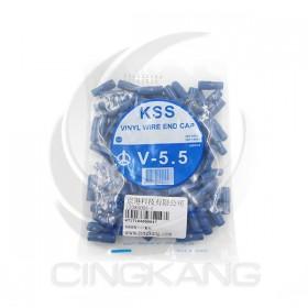 絕緣套管 V-5.5(藍色)