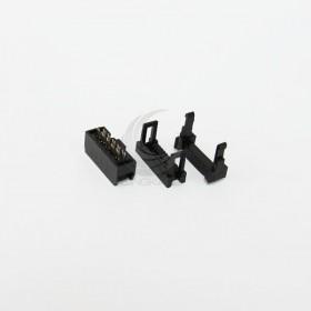 FC-10P 間距2.54mm  IDC壓線頭3件(5組)