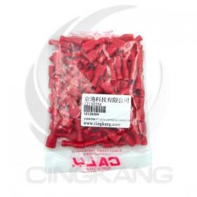 全絕緣母端子 PV1.25-7A 6.35*0.8mm(22-16AWG) 佳力牌 (100PCS/包)