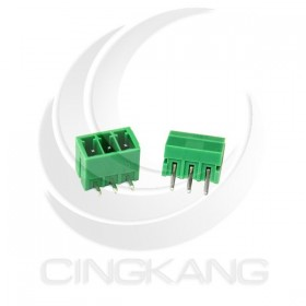 PCB 3.5-3P 端子台(公) 8A 300VAC 90度 (2入)