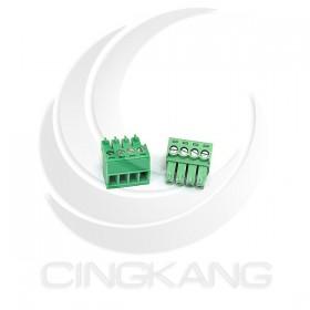PCB 3.5-4P 端子台(母) 8A 300VAC (2入)