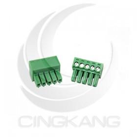 PCB 3.5-5P 端子台(母) 8A 300VAC (2入)