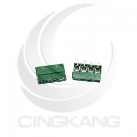 迷你型端子台-4P 10A 300VAC 腳距5.0 (2入)
