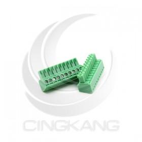 PCB 3.5-10P 端子台(母) 8A 300VAC (2入)