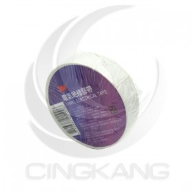 3M 電氣絕緣膠帶-白色 (0.13mm*19mm*20碼)