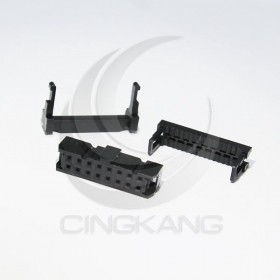 FC-16P間距2.54mm  IDC壓線頭3件(5組)