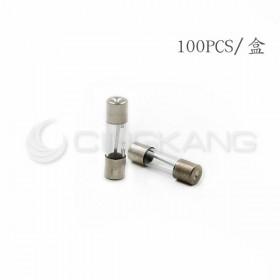 20mm 12A 250V 玻璃保險絲管 鐵頭(100入)