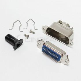 大鐵殼24P 焊線式-母