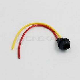 T10 橡膠燈座 (黑)