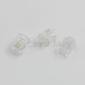 台製 電話接頭 MOD-641-R-Fu 6P4C 10PCS/包