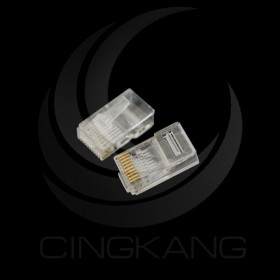 台製 CAT6 10P水晶頭 三叉式 50u (10PCS/包)