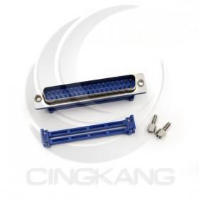 D型接頭 壓排式IDC-37P公 37P 附螺絲 (5個/入)