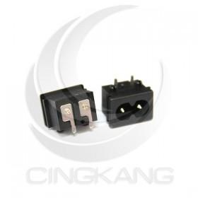 電源8字插座 2.5A/250V 插板式(2入)