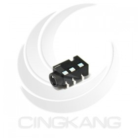 3.5立體插座(四極) 焊線型