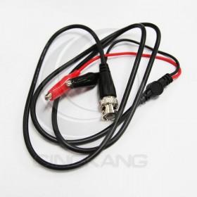 BNC(公)轉鱷魚夾子(紅黑公) 測試線/轉換線/訊號線