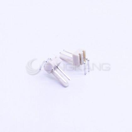 Molex 2.54連接器-2P 公插頭 彎型 (20入)