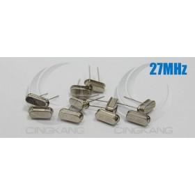 49S型無源晶振 27MHz(10入)
