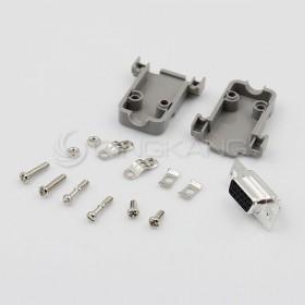 D型接頭保護蓋15P+DB15母 三排 (含螺絲)
